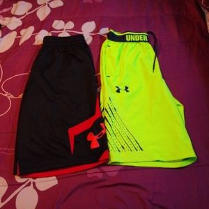 2 Under Armour Shorts